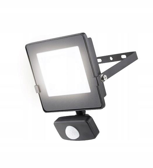 Luceco Eco 20w Slimline Naświetlacz LED PIR 4000K