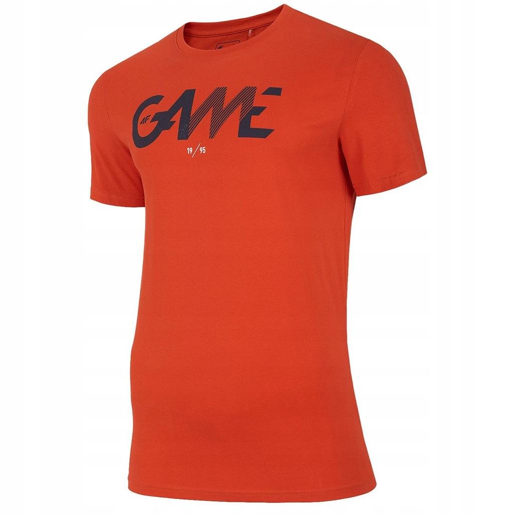 Koszulka 4F H4L20 TSM028 Pomarańcz