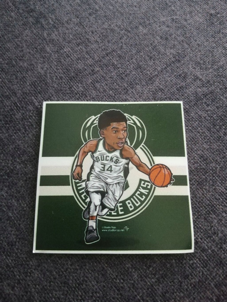 Milwaukee Bucks magnes lodówkę nba pippen jordan