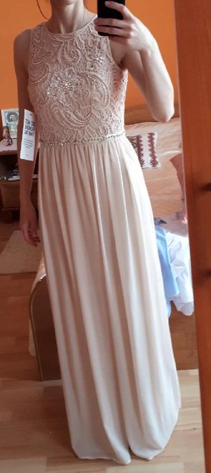 Długa suknia ZALANDO Young Couture wesele bal