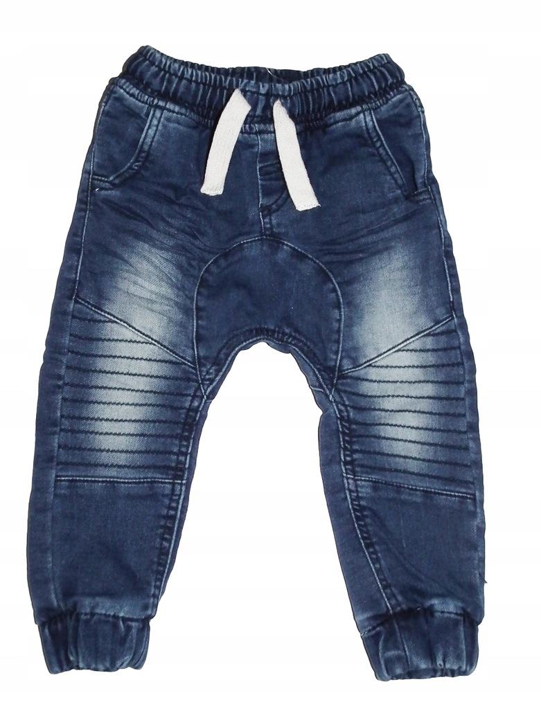 COOL CLUB Spodnie jeansowe roz 86 cm