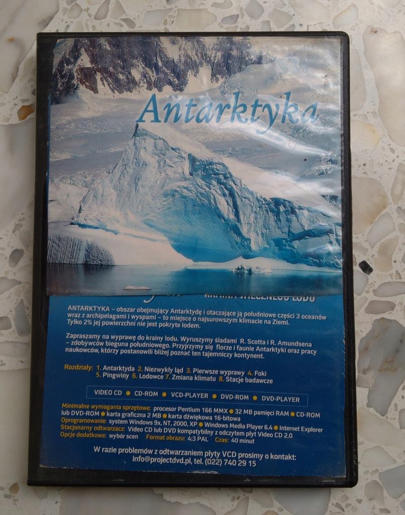 FILMY ANTARKTYKA LASY TROPIKALNE VCD x2CD