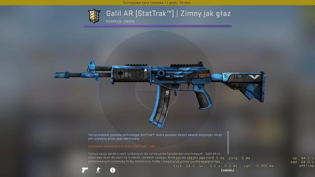 Galil AR (StatTrak) | Zimny jak głaz - skin CS:GO
