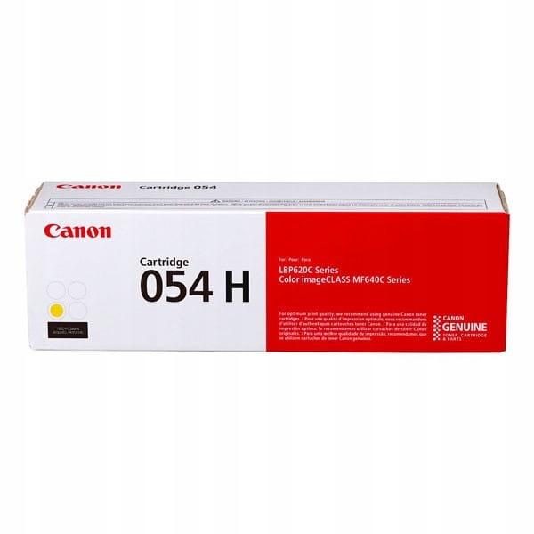 Canon oryginalny toner 054HY, yellow, 2300s, 3025C