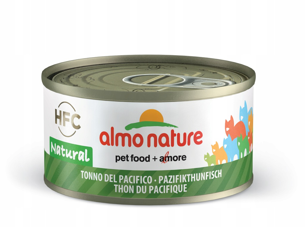 ALMO NATURE HFC Natural - tuńczyk pacyficzny 70g