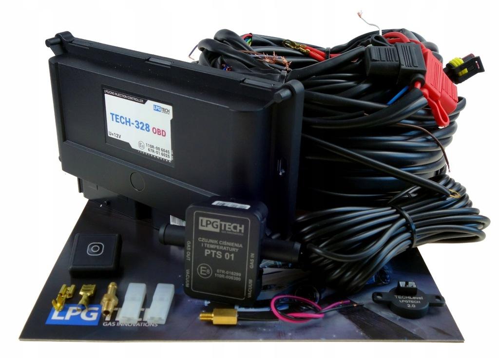 Sekwencja Lpg-TECH 328 OBD 8-Cyl Elektronika