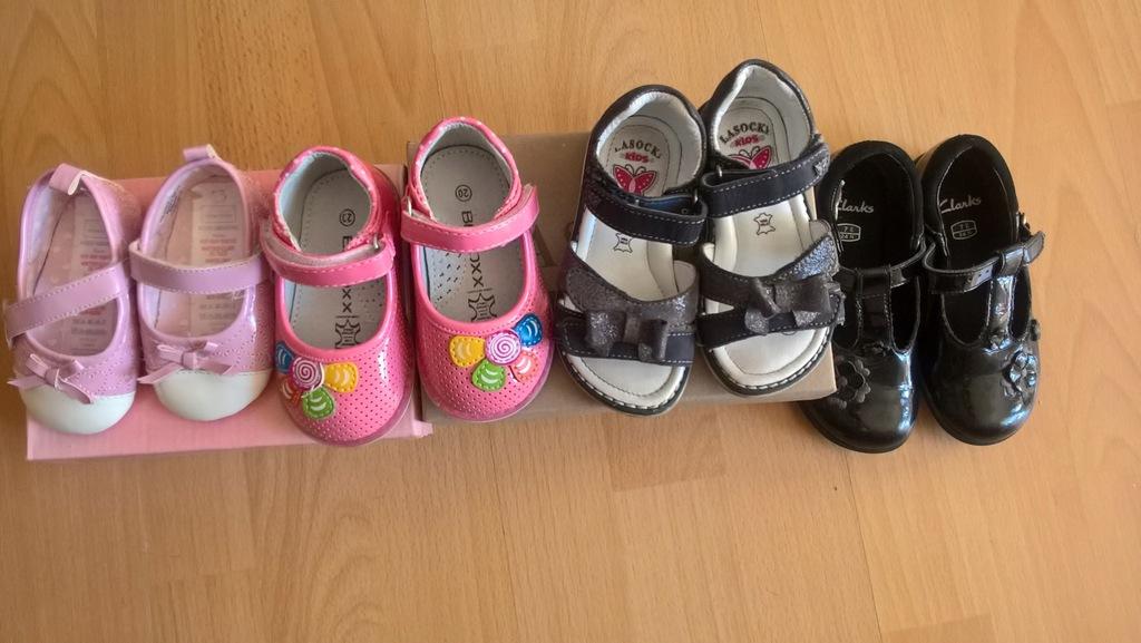 Buty dla dziewczynki Lasocki Badoxx skóra 20 22 24