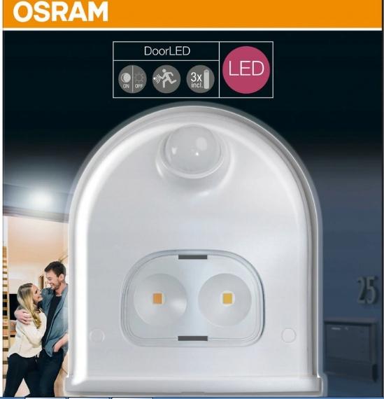 Lampa zewnętrzna OSRAM DoorLED z czujnikiem ruchu