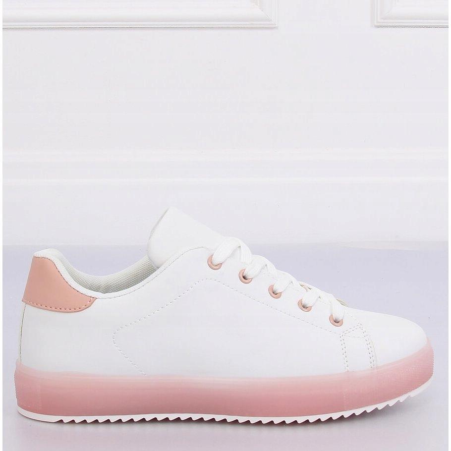 Trampki damskie biało różowe 9118 Pink r.37