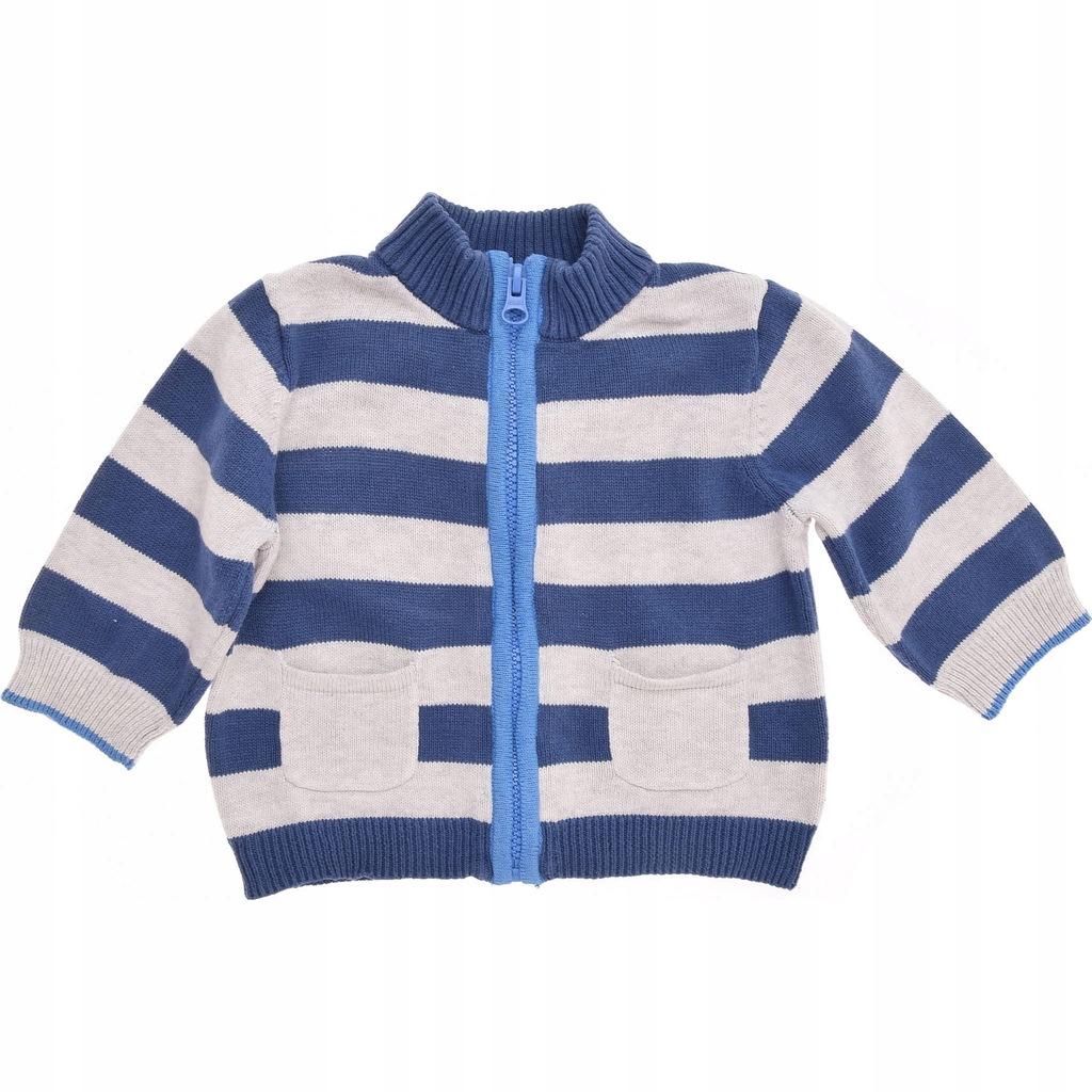 MOTHERCARE sweterek chłopięcy w Paski na Zamek 68