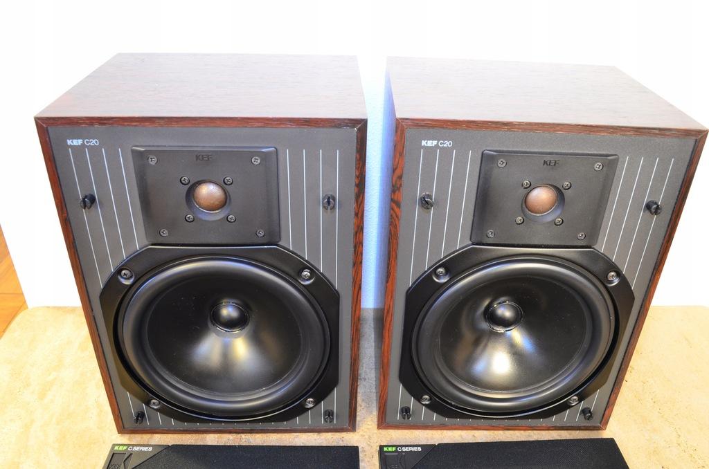 Kolumny KEF C20 Piękne , audiofilskie, Vintage