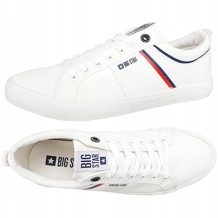 Trampki BIG STAR męskie białe DD174415 buty 44