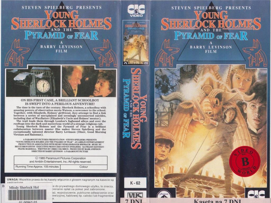 PIRAMIDA BOGA SŁOŃCA - VHS 54KA
