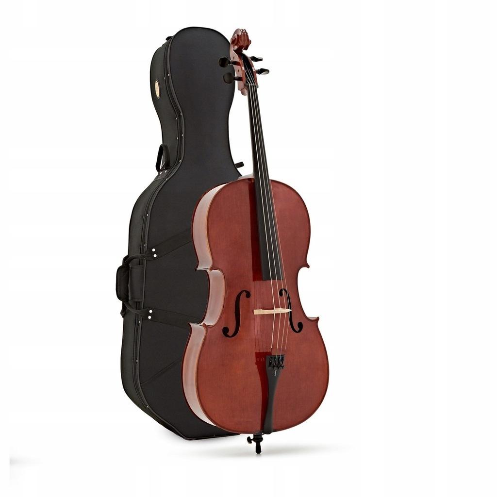 Stentor Conservatoire 1586 wiolonczela 4/4 ZESTAW!