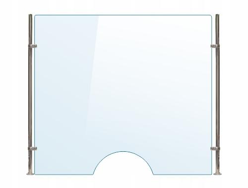 OSŁONA z pleksi ochronna A szyba 4 mm plexi 120x70