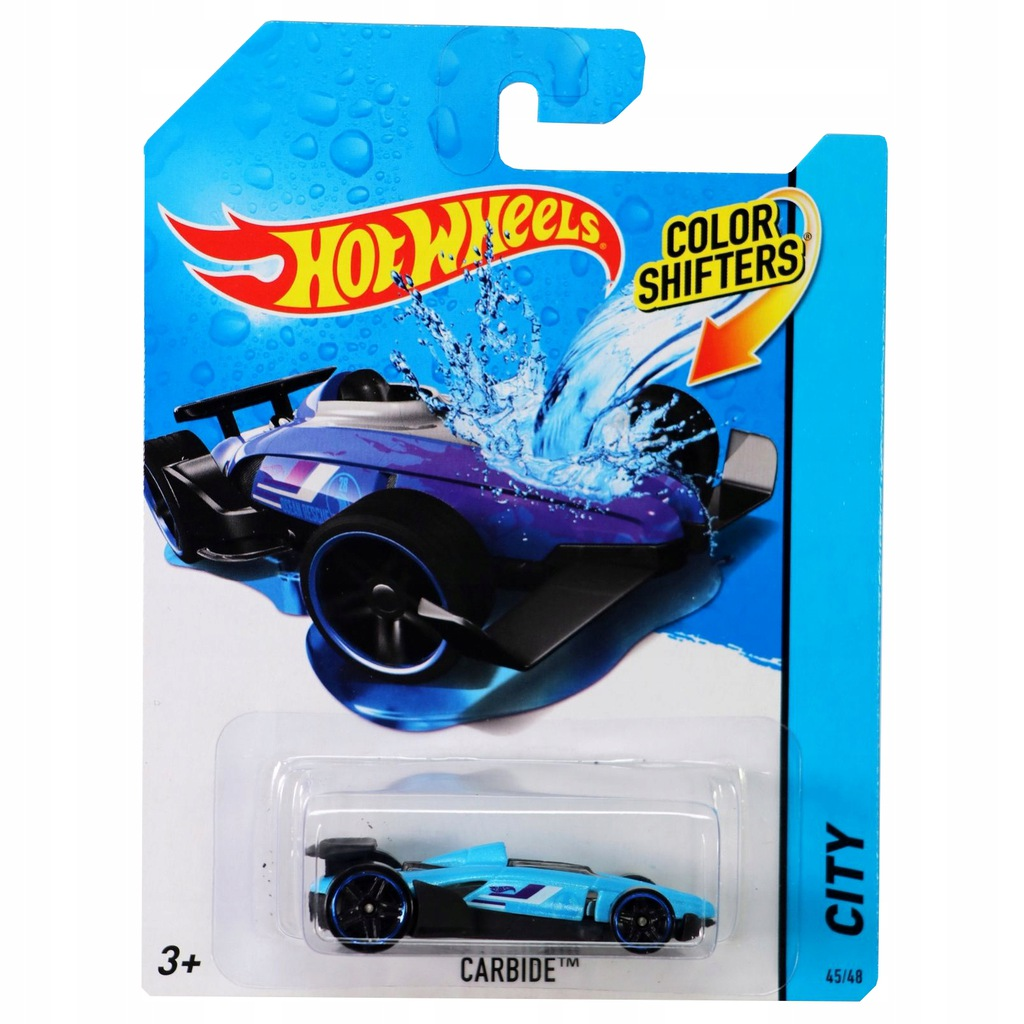Hot Wheels zmienia kolor CARBIDE BHR54