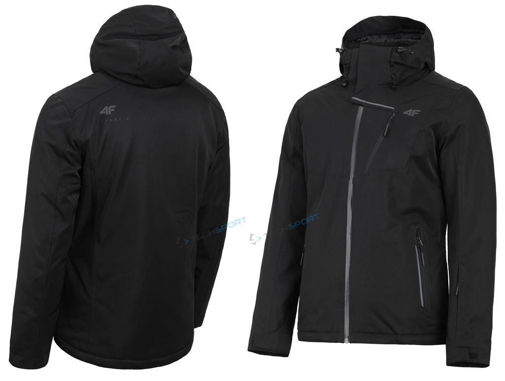kurtka zimowa męska 4f z18 kumn004 czarna