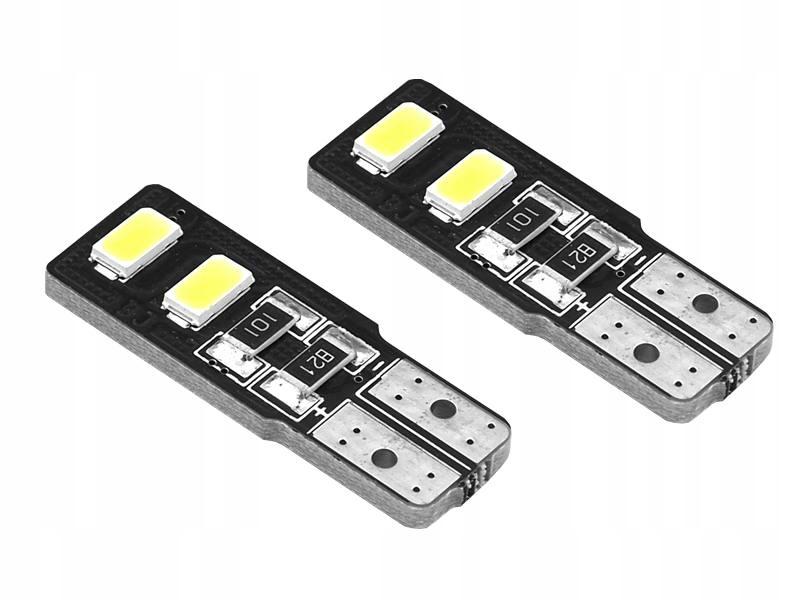 LED AMIO STANDARD T10 4SMD 5730 White kpl 2szt