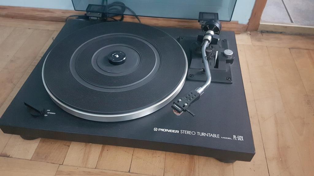 Gramofon Pioneer PL-512X, wkładka Pioneer