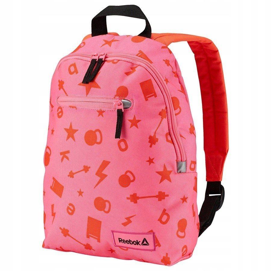 Różowy firmowy plecak do przedszkola REEBOK