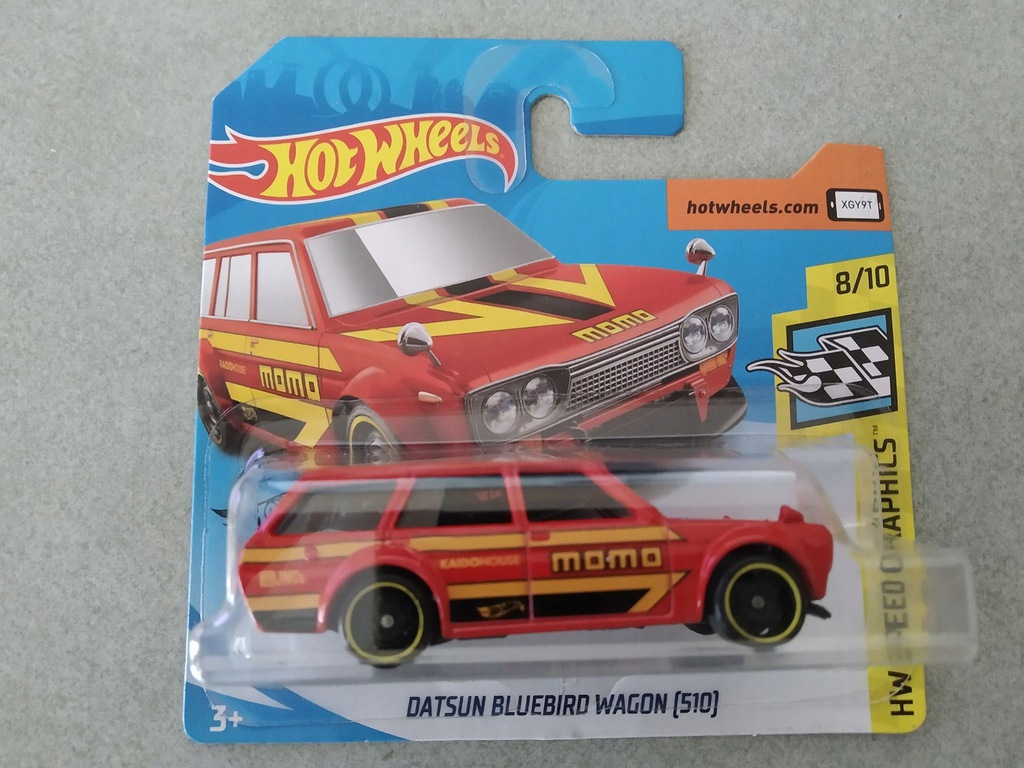 HOT WHEELS DATSUN BLUEBIRD WAGON MOMO
