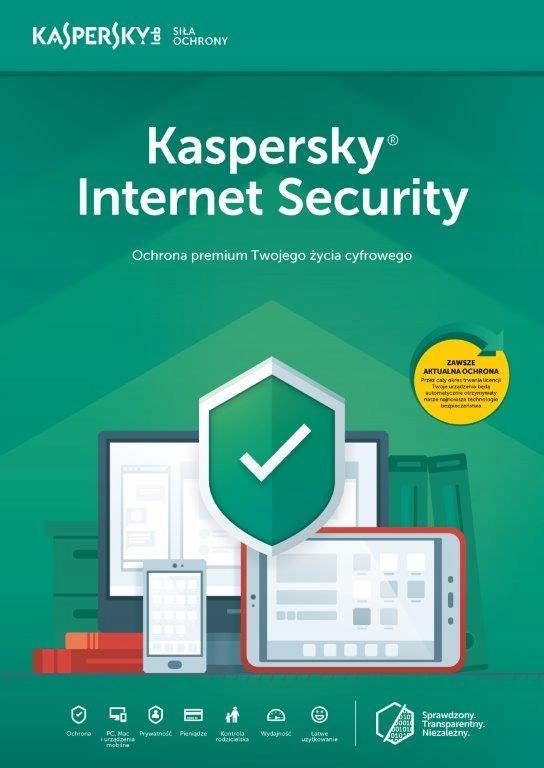 Kaspersky Internet Security 2019 3PC/2Y KONT ESD