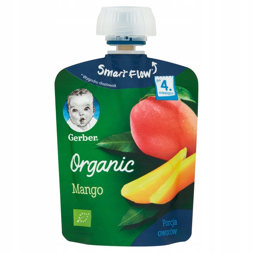 GEBRER ORGANIC BIO deserek w tubce mango 90 g