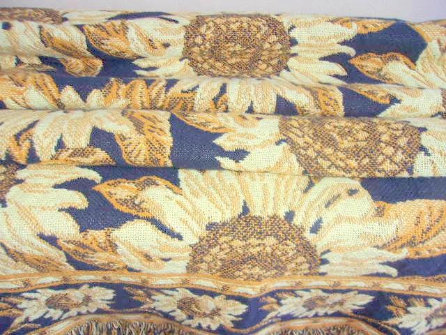 Słoneczniki pled narzuta kilim