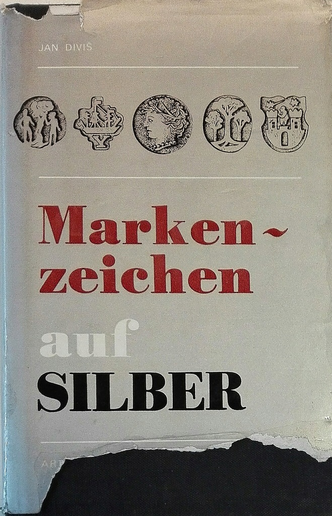 Marken zeichen auf Silber Jan Divis SPK