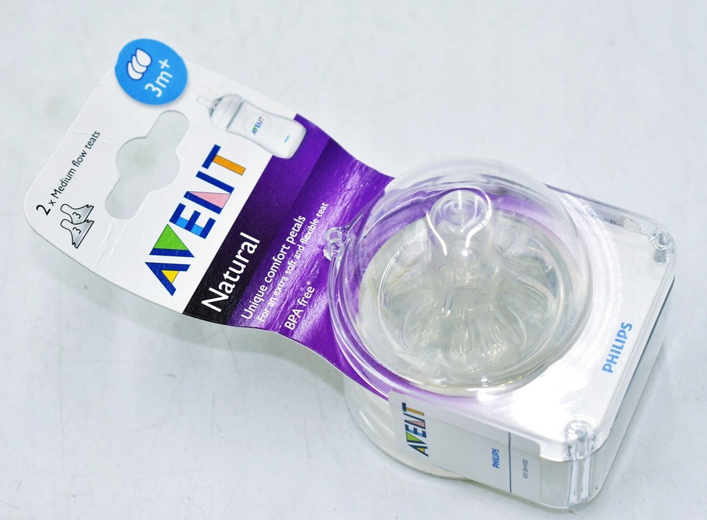 9508-20 ...PHILIPS AVENT NATURAL... p#s SMOCZKI