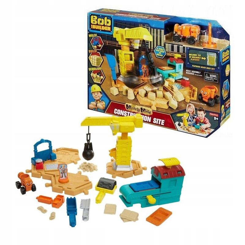 Bob Budowniczy Plac Budowy Piasek Kinetyczny Dmm55 7929645727 Oficjalne Archiwum Allegro
