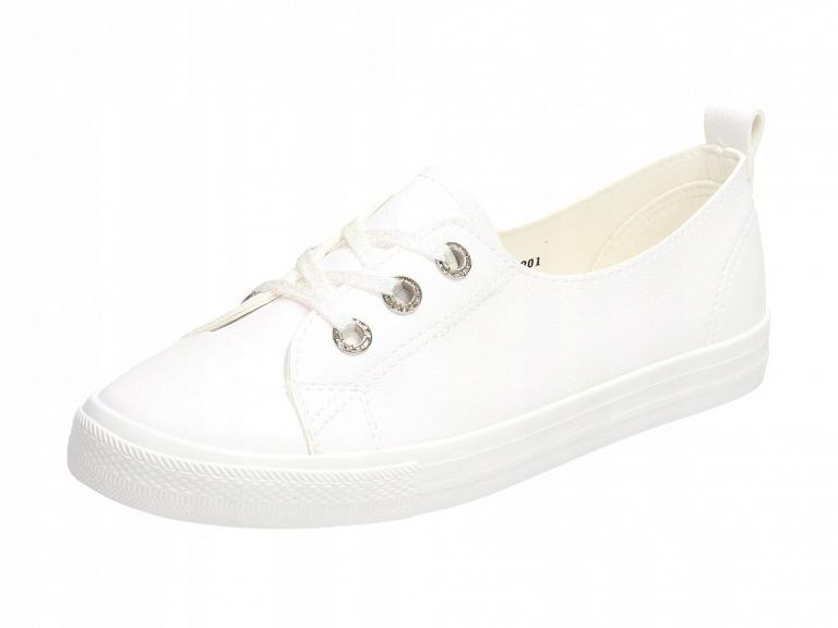 Białe trampki, buty damskie McKeylor 12901 r39