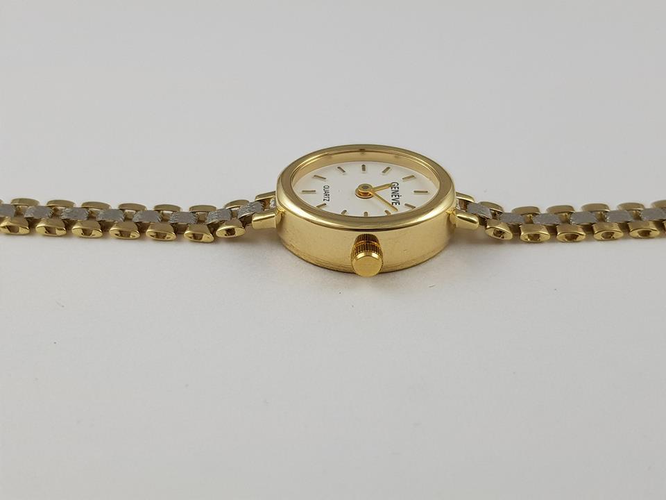 Oryginalny damski złoty zegarek GENEVA śliczny 14K
