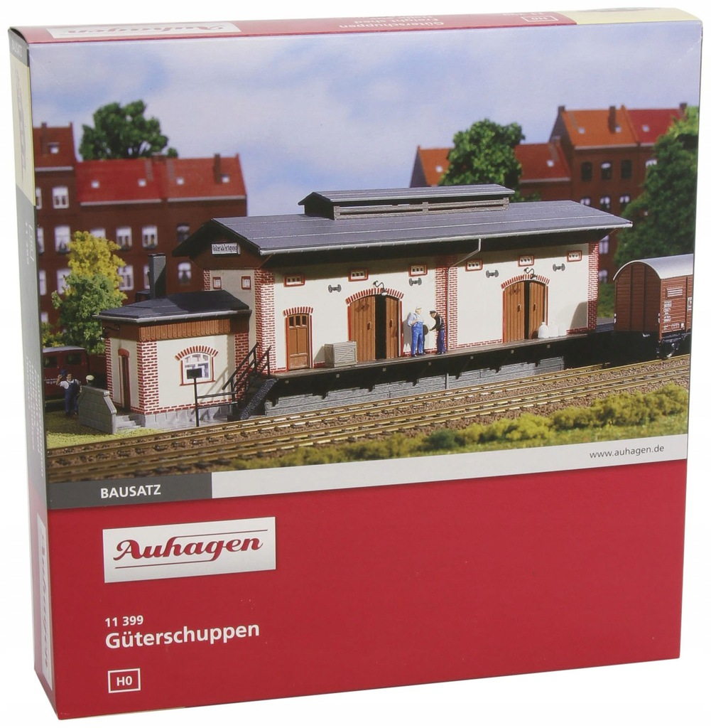 Auhagen 11399 Freight Shed Modelling Kit