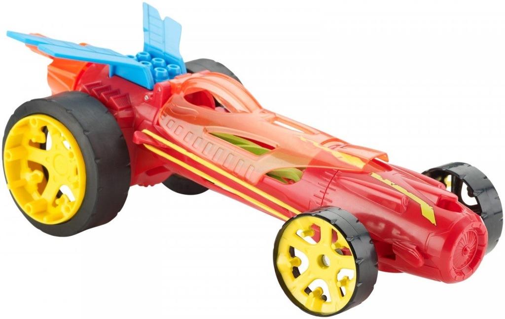 Hot Wheels Autonakręciak i wyścigówki, czerwony