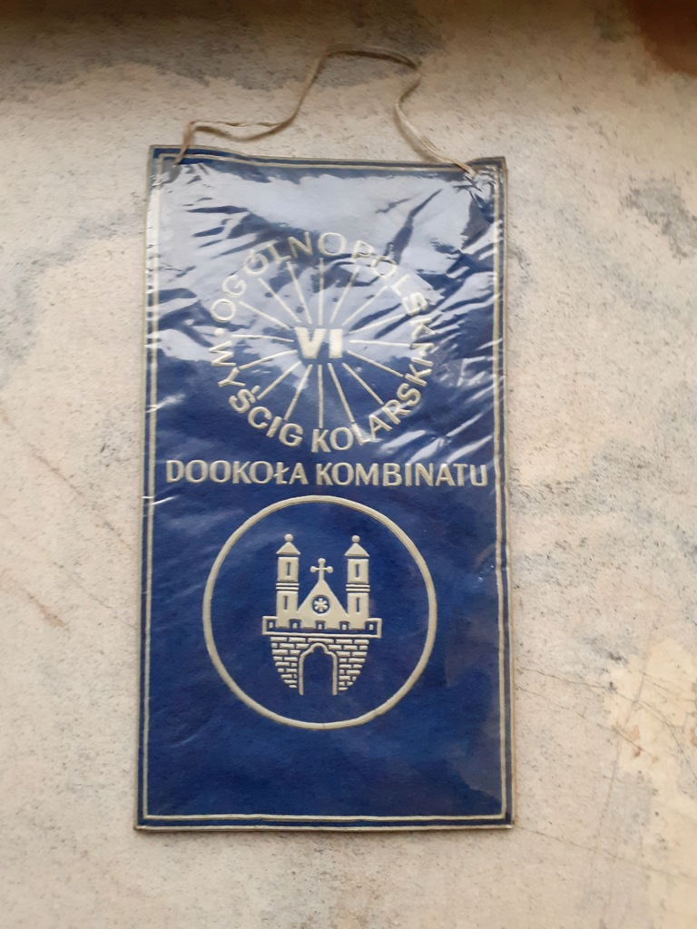 Proporczyk - Płock - VI Wyścig Kolarski - 1971
