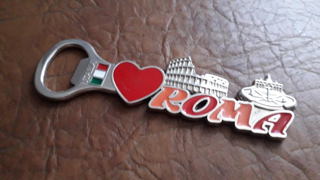 Magnes na lodówkę/otwieracz do piwa Rzym Roma nowy