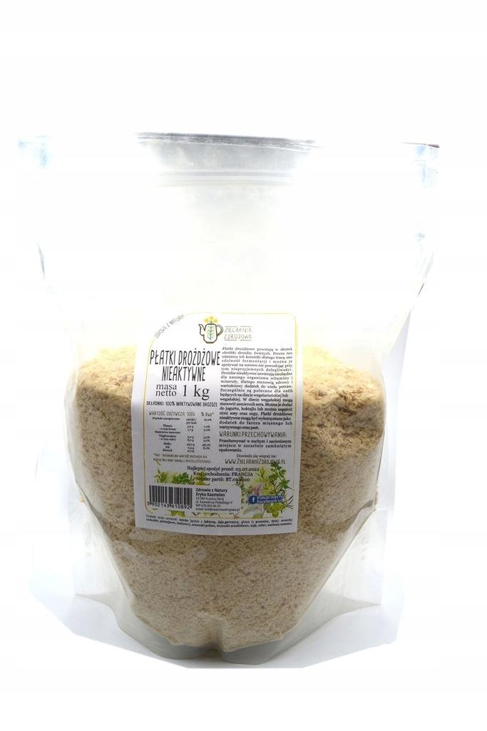 Płatki drożdzowe nieaktywne 1kg SKLEP ZIELARSKI