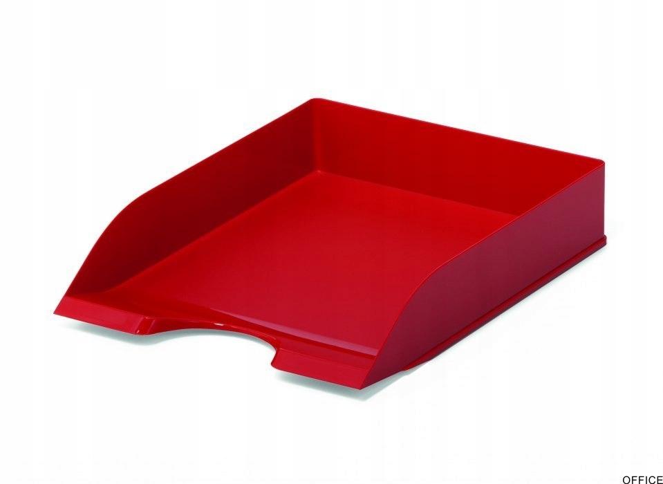 Półka na dokumenty DURABLE BASIC A4 czerwona 17016