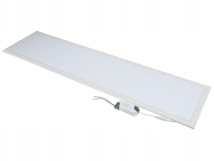 Panel led sufitowy 120x30 60w lampa slim kaseton 6