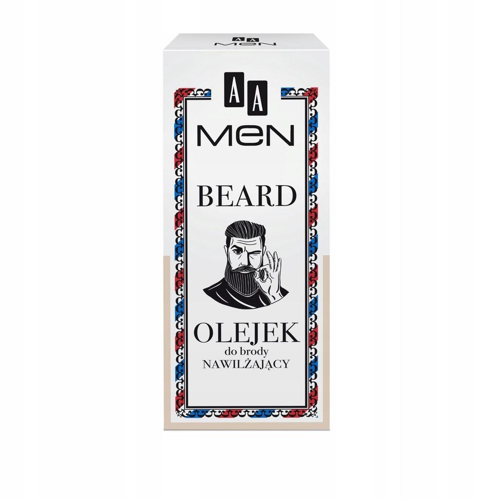 AA olejek do brody dla mężczyzn nawilżający 30ml