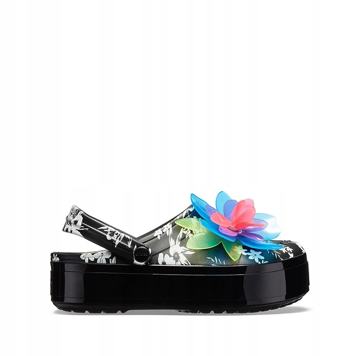 Crocs TROPIC CLOG 205853 NEON FLORAL/BLACK 39,5