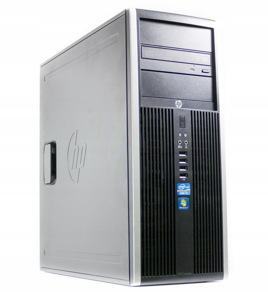 Komputer HP ELITE 8200 i5-2500 8GB 120GB SSD W7P