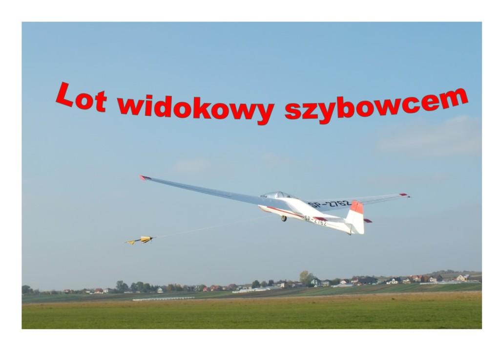 LOT WIDOKOWY SZYBOWCEM! AEROKLUB KRAKOWSKI