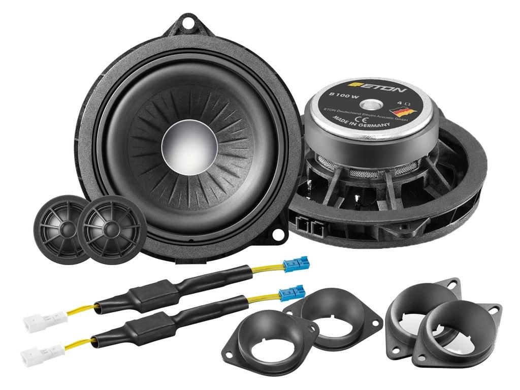 ETON B100W - głośniki do BMW X5 F15, X5 F16