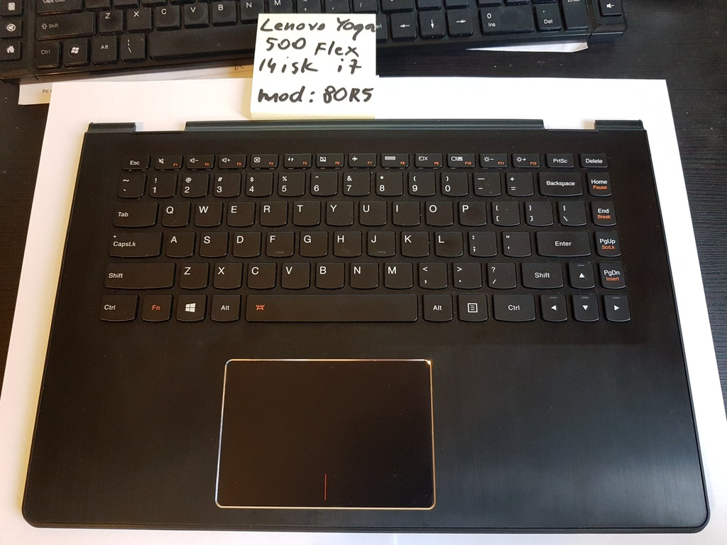 Lenovo Yoga 500 14 isk palmrest klawiatura touchpa