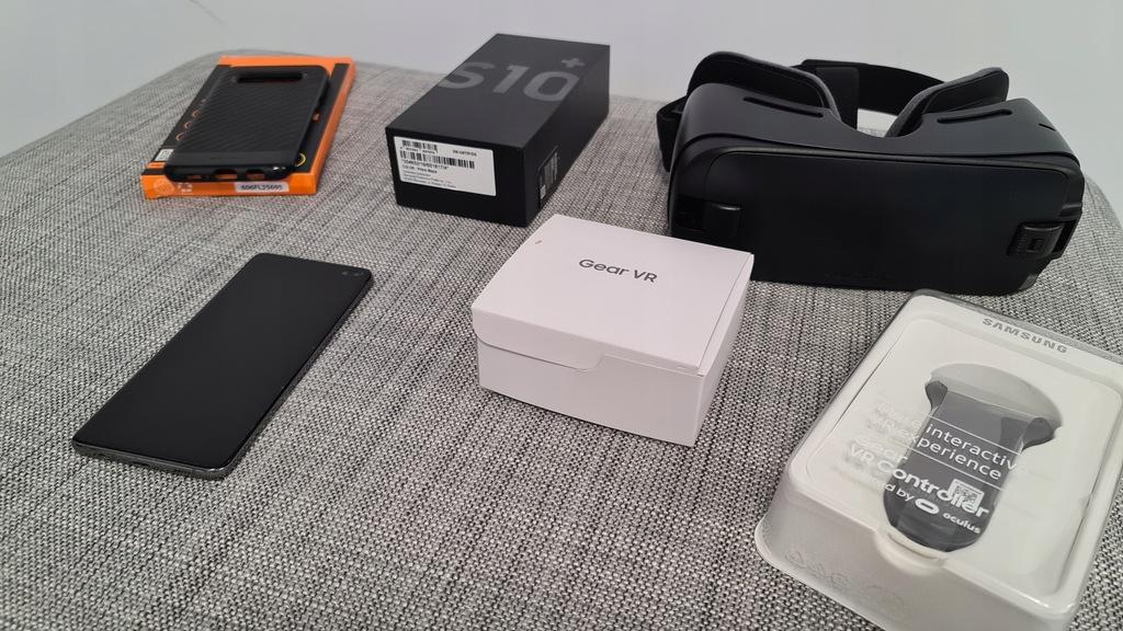 SAMSUNG S10+ PLUS ETUI+GEAR VR+KONTROLER