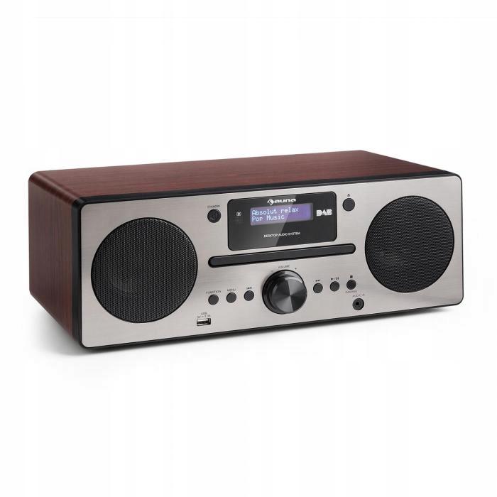 Radio odtwarzacz DAB+ tuner UKF odtwarzacz CD USB