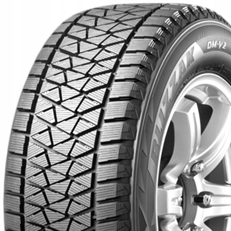 2x 255/55R18 Bridgestone Blizzak DM-V2 109T XL