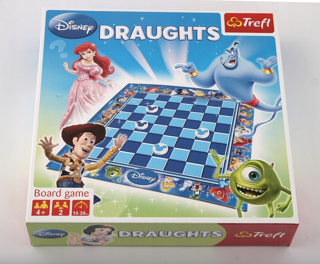 Gra WARCABY Trefl Disney-Baśniowe Igrzyska
